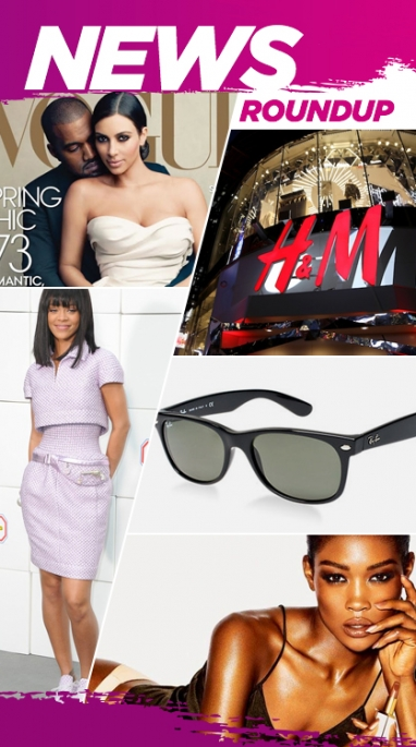 Week In Review: Kim and Kanye's Vogue Cover, Google Glass Ray Bans & H&M's Expansion