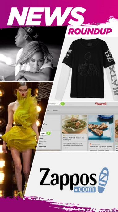 Week In Review: Paris Couture Week, Beyonce Performance & Pinterest's New Feature