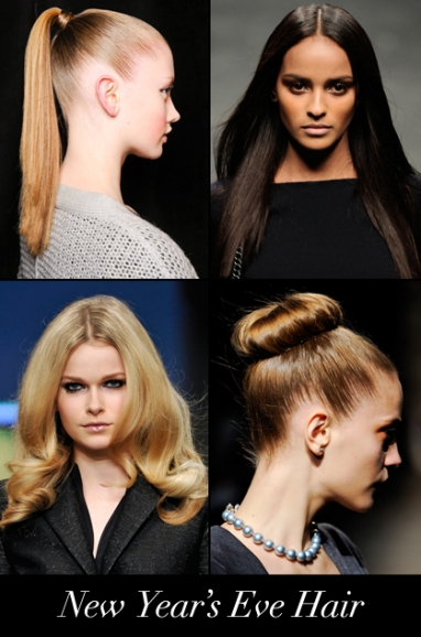 LUX Hair: New Year's Eve Hairstyles