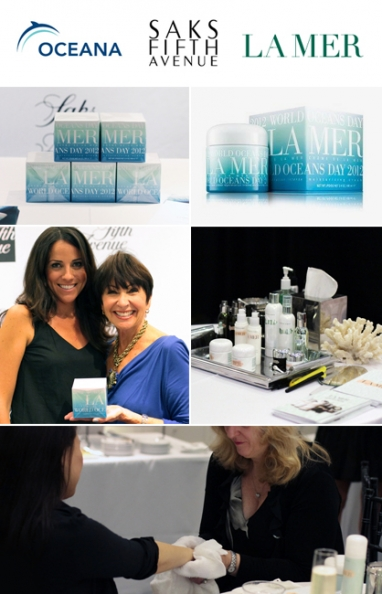 La Mer supports Oceana and World Ocean Day at Saks event