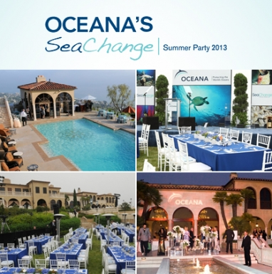 Oceana to Celebrate 6th Annual SeaChange Summer Party