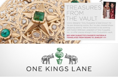 One Kings Lane holds Tony Duquette jewelry sale
