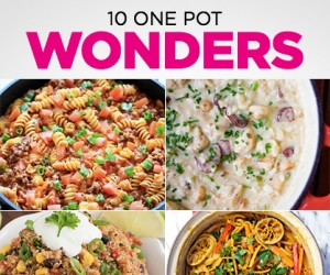 What's for Dinner: 10 One Pot Wonders