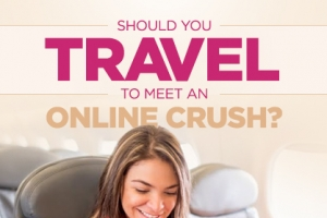Is it Wise to Travel to Meet Your Online Crush?