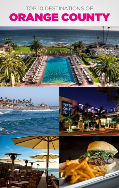 Top 10 Destinations of Orange County