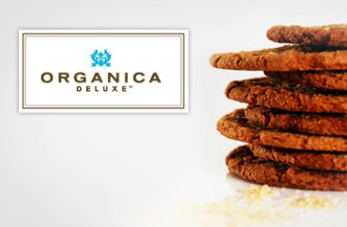 Eco-LUX:  Organica Deluxe Ginger Cookies Infused with Ginger & Molasses