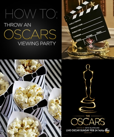 How To: Host an Oscars Viewing Party