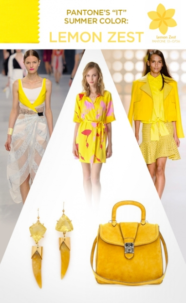 "Pantone's ""It"" Summer Color: Lemon Zest"