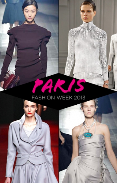 Paris Fashion Week: Balenciaga, Lanvin & Nina Ricci