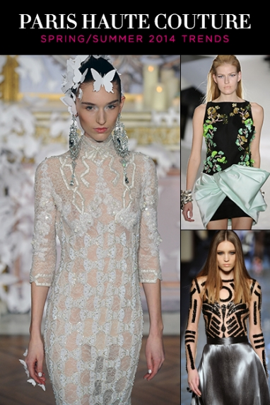Paris Couture Week 2014: Runway Trends