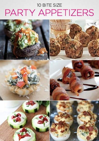 New Year's Eve: 10 Bite-Size Party Appetizers