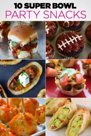 10 Super Bowl Party Snacks