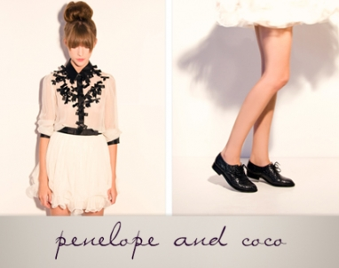Penelope and Coco reinvent the Oxford for Spring 2011