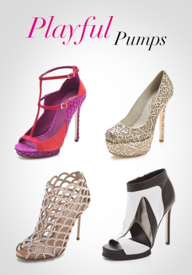 LUX Style: Playful Pumps