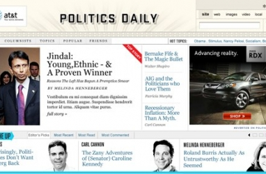 AOL Launches Political News Site: PoliticsDaily.com