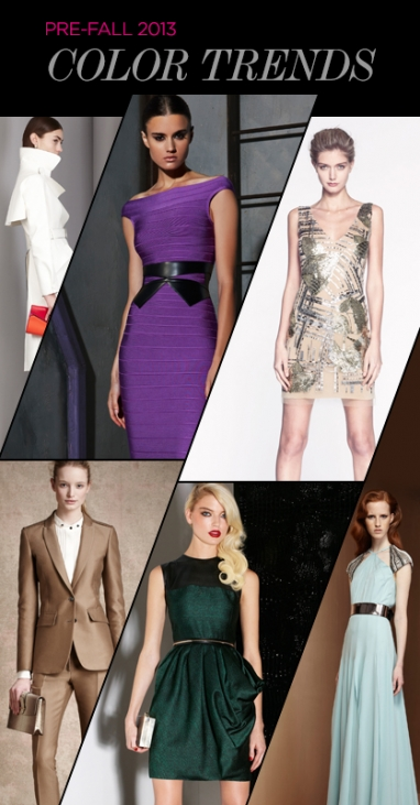 Pre-Fall 2013: Color Trends