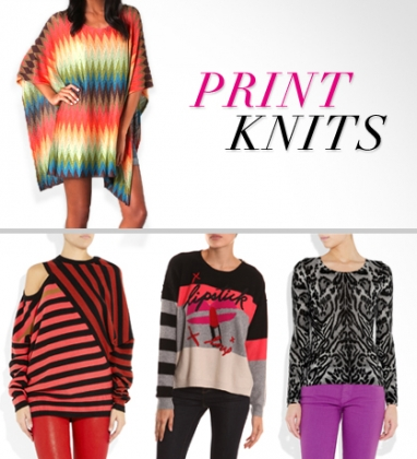 LUX Style: Print Knits