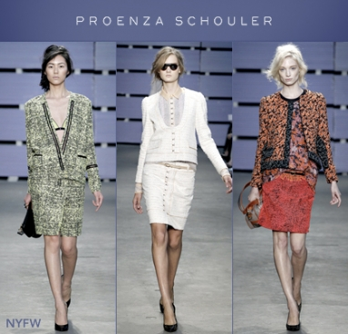Proenza Schouler NYFW: A Twist on Tweed