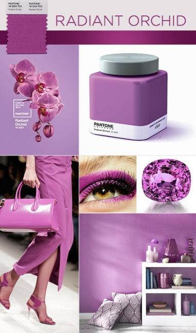 Radiant Orchid Revealed as Pantone's 2014 Color of the Year