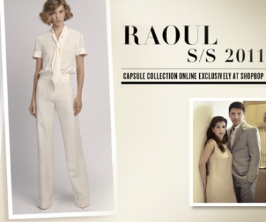 New Raoul collection at Shopbop