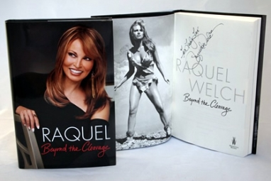 Giveaway! Signed Raquel Welch Memoir