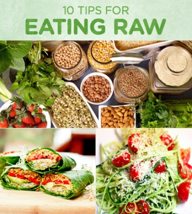 Wellness Wednesday: 10 Tips for Eating Raw
