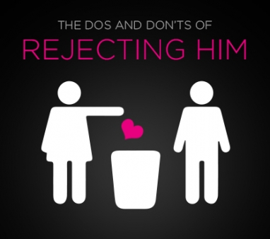 Ask Drew: The Dos and Don'ts of Rejecting Him