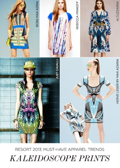 Resort 2013 must-have apparel trends
