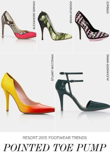 Resort 2013 must-have footwear trends