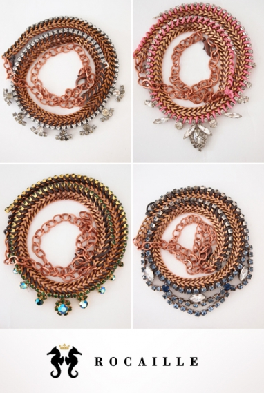 Jewelry designer Amanda He discusses the evolution of Rocaille and its Spring 2012 collection