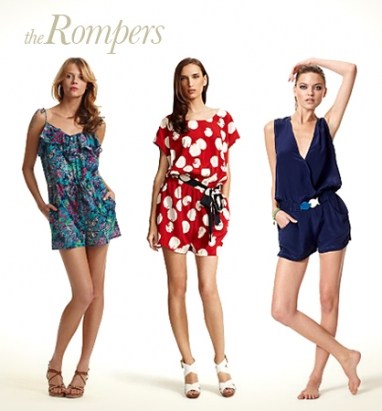 LUX Look: Rompers
