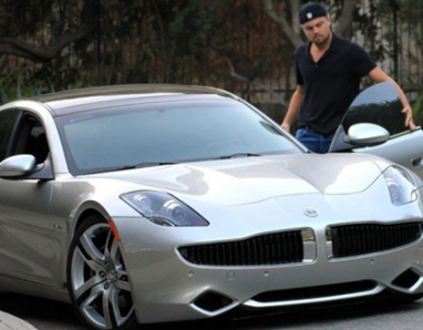 Fisker Automotive and Leonardo DiCaprio team up to promote sustainability