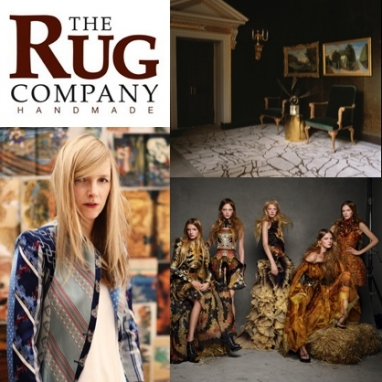 Alexander McQueen Partners With The Rug Company