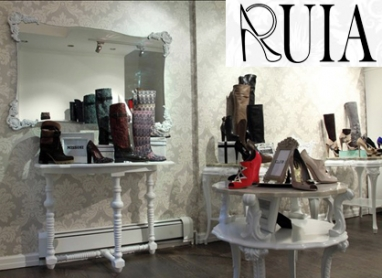 Shoe store Ruia features rare international footwear