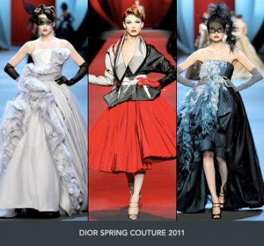 Spring Couture 2011: Christian Dior