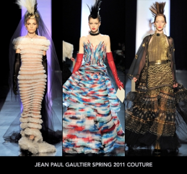 Spring Couture 2011: Jean Paul Gaultier