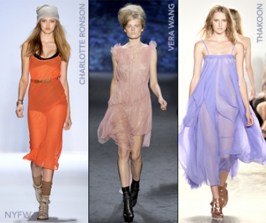 At NYFW: Sheer Genius