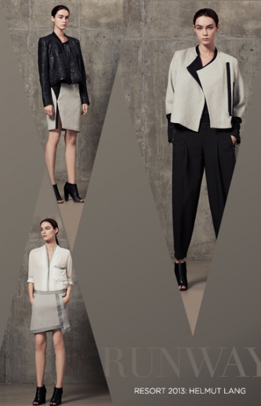Resort 2013: Helmut Lang