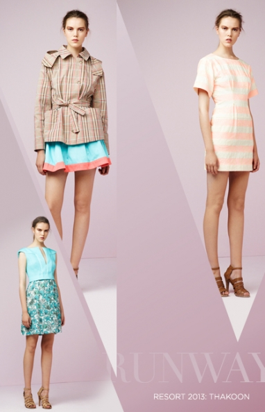 Resort 2013: Thakoon