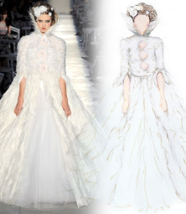 Top 5 Fall 2012 Couture moments re-imagined