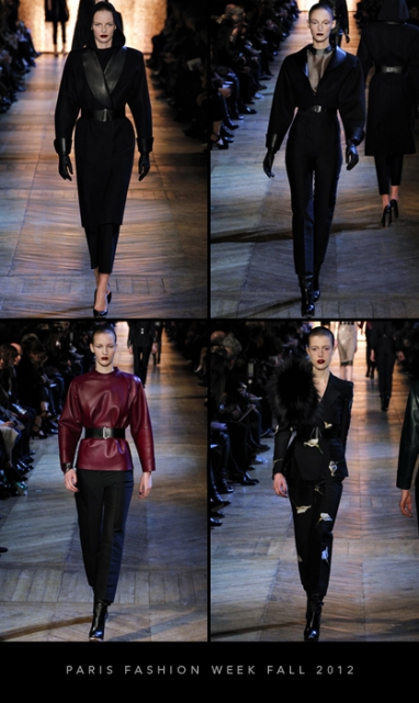 Paris Fashion Week Fall 2012: Yves Saint Laurent