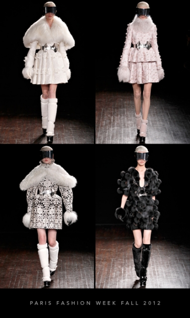 Paris Fashion Week Fall 2012: Alexander McQueen