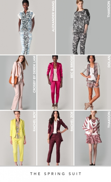 Spring 2012 Apparel Trends: The Spring suit