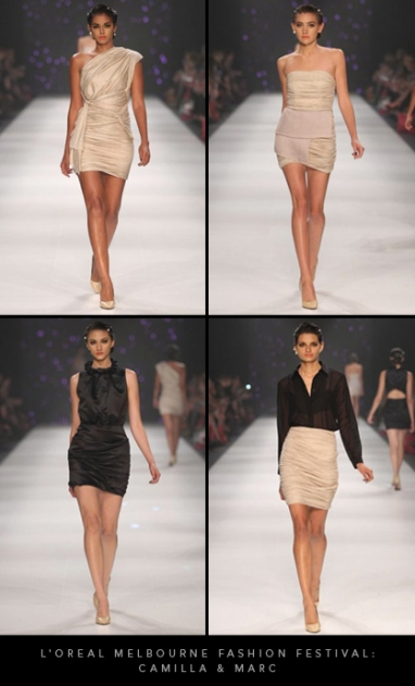 L'Oreal Melbourne Fashion Festival 2012: Camilla and Marc