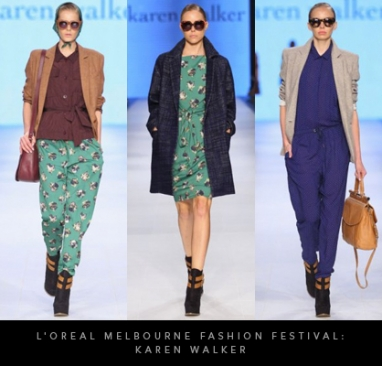 L'Oreal Melbourne Fashion Festival: Karen Walker