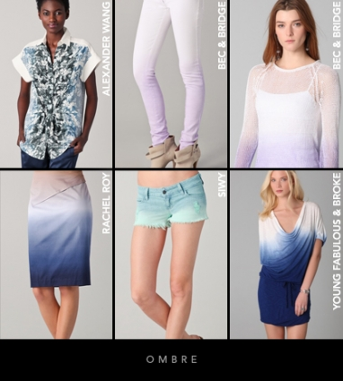 Spring 2012 Trends: Ombre