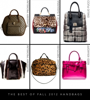The best of Fall 2012 handbags