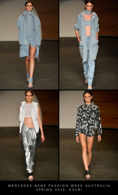 Mercedes-Benz Fashion Week Australia Spring 2012: Ksubi
