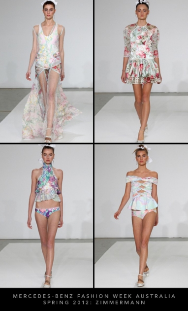 Mercedes-Benz Fashion Week Australia Spring 2012: Zimmermann