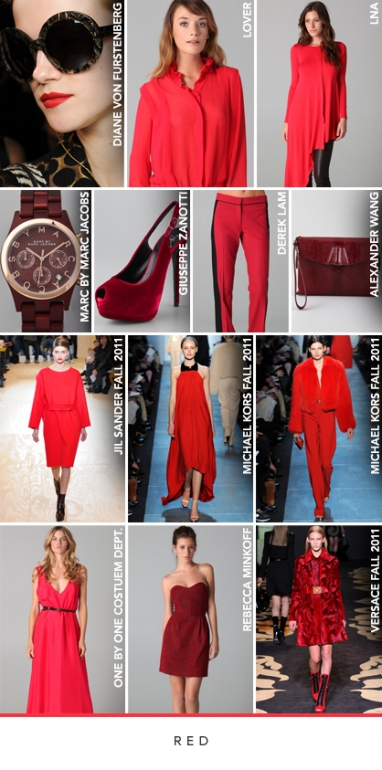 LUX Style: Holiday colors inspired from the runway
